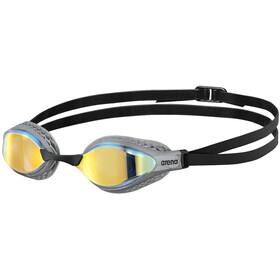 arena Airspeed Mirror Occhiali Da Nuoto, nero/grigio